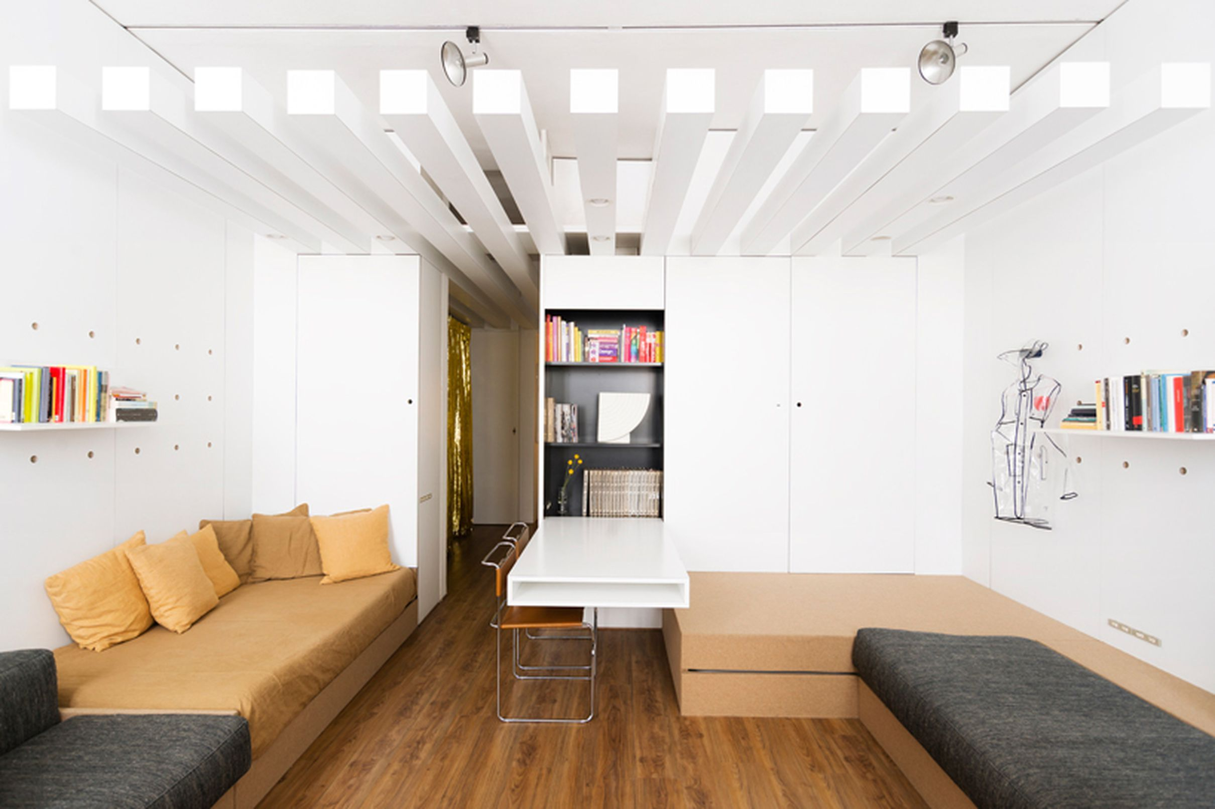 Inside An Architect S Own Renovated Modular Studio Apartment Curbed