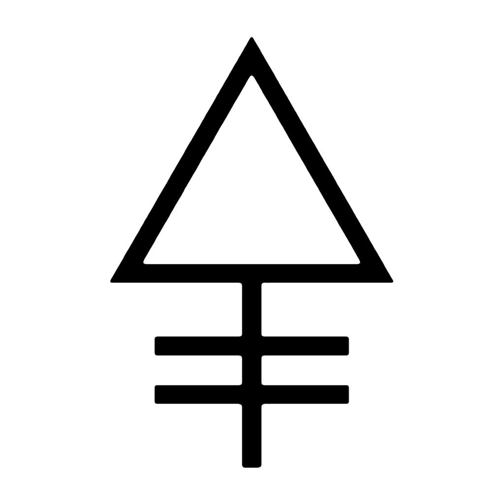 PHOSPHORUS - Alchemy Symbol The elemental alchemy symbol ...