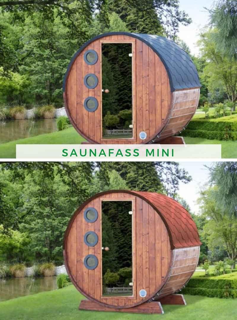 Sauna Zuhause Wolff Saunafass Mini 160 Saunafass Sauna Saunahaus