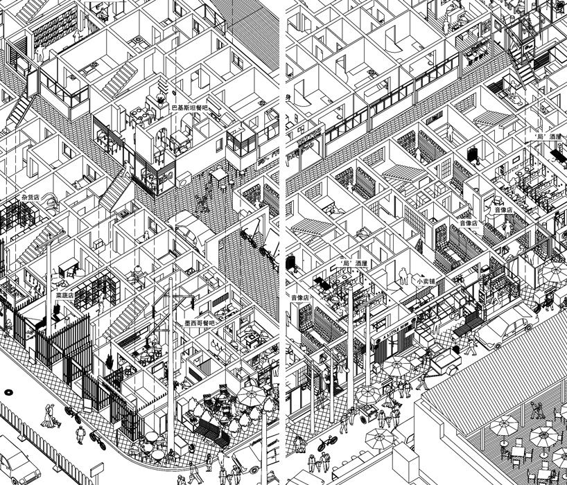 Gallery of urbanized landscape series by li han atelier for Cheap architectural drawings