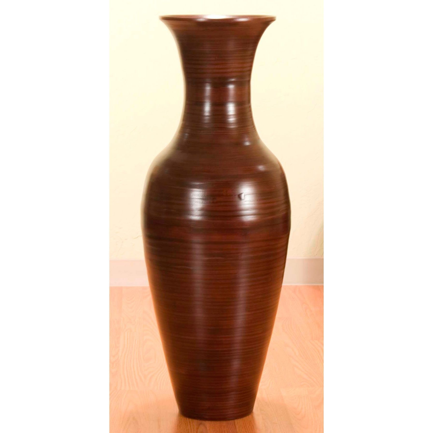 overstock home tall shipping product free floor bamboo inch today vase garden