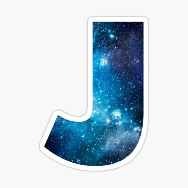 Letter J Space Stickers   Space stickers, Letter j ...