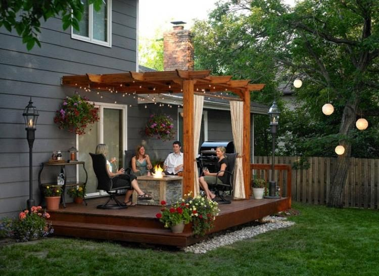 Inspiring Cute Small Patio Design Ideas