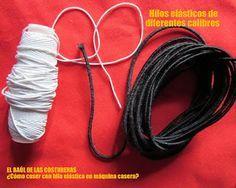 Costura con hilo elástico, consejos de el Baúl de la costurera
