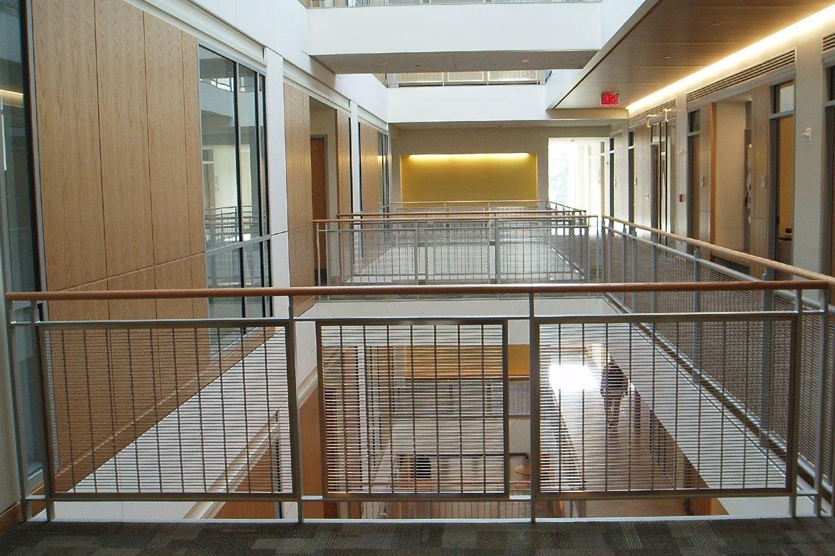 Yale university rosenkranze hall atrium interior - Commercial interior design codes ...
