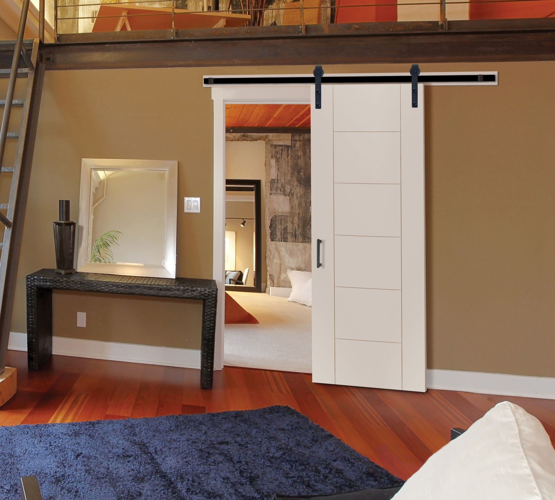 Interior bedroom door - Interiors
