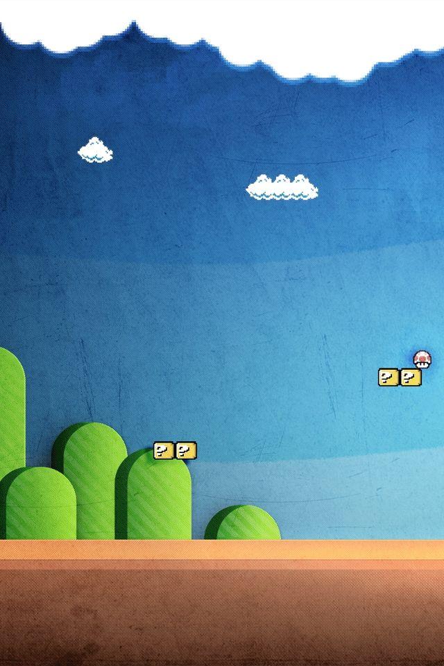 Mushroom Kingdom Cellphone wallpaper, Iphone wallpaper