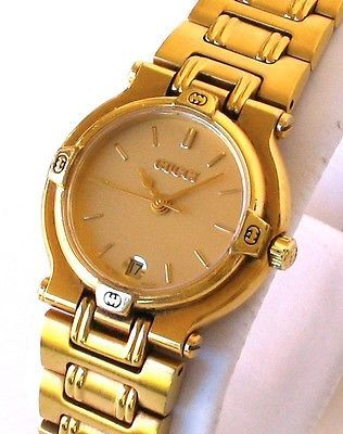 c50ecc95b4d GOLD GUCCI Swiss Made Luxury watch for women