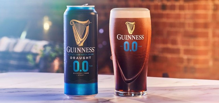 The Diageo Brand Joins Others Including Budweiser And Sam Adams In Introducing New Alcohol Free Brews Guinness Guinness Draught Beer