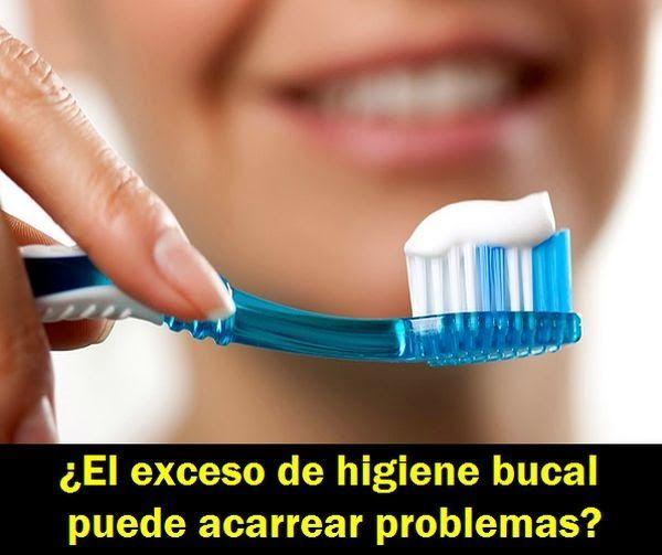 ¿El exceso de higiene bucal puede acarrear problemas?   OdontoFarma
