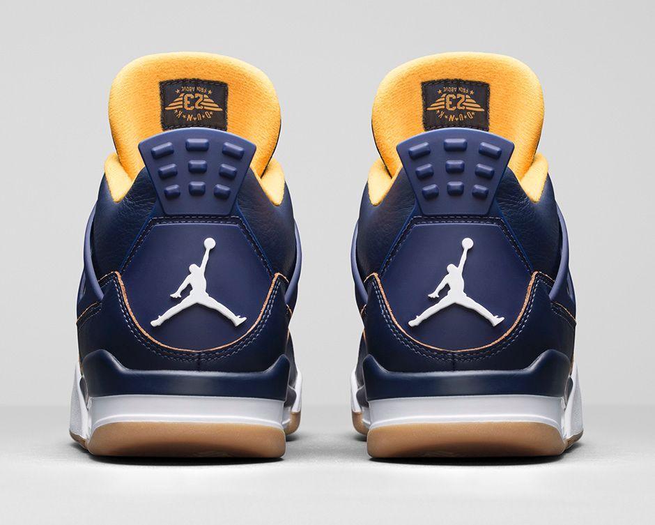 Air Jordan 4 azul