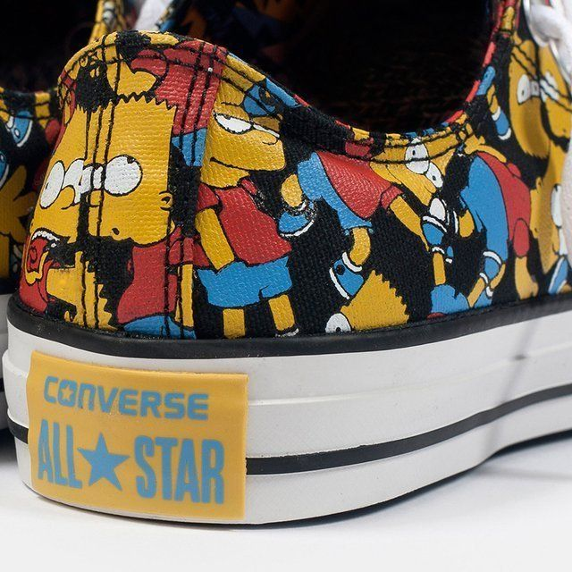 fab0cd96deff Converse X The Simpsons All-Stars