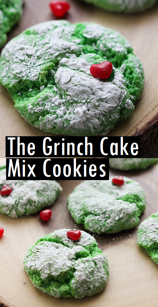The Grinch Cake Mix Cookies Sundayrecipes Recipes In 2019