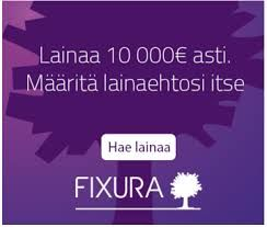 Rahaa,Hintaa,nappulaa,fyrkkaa 2016!: Fixura 2016 Valitse lainan korko itse!