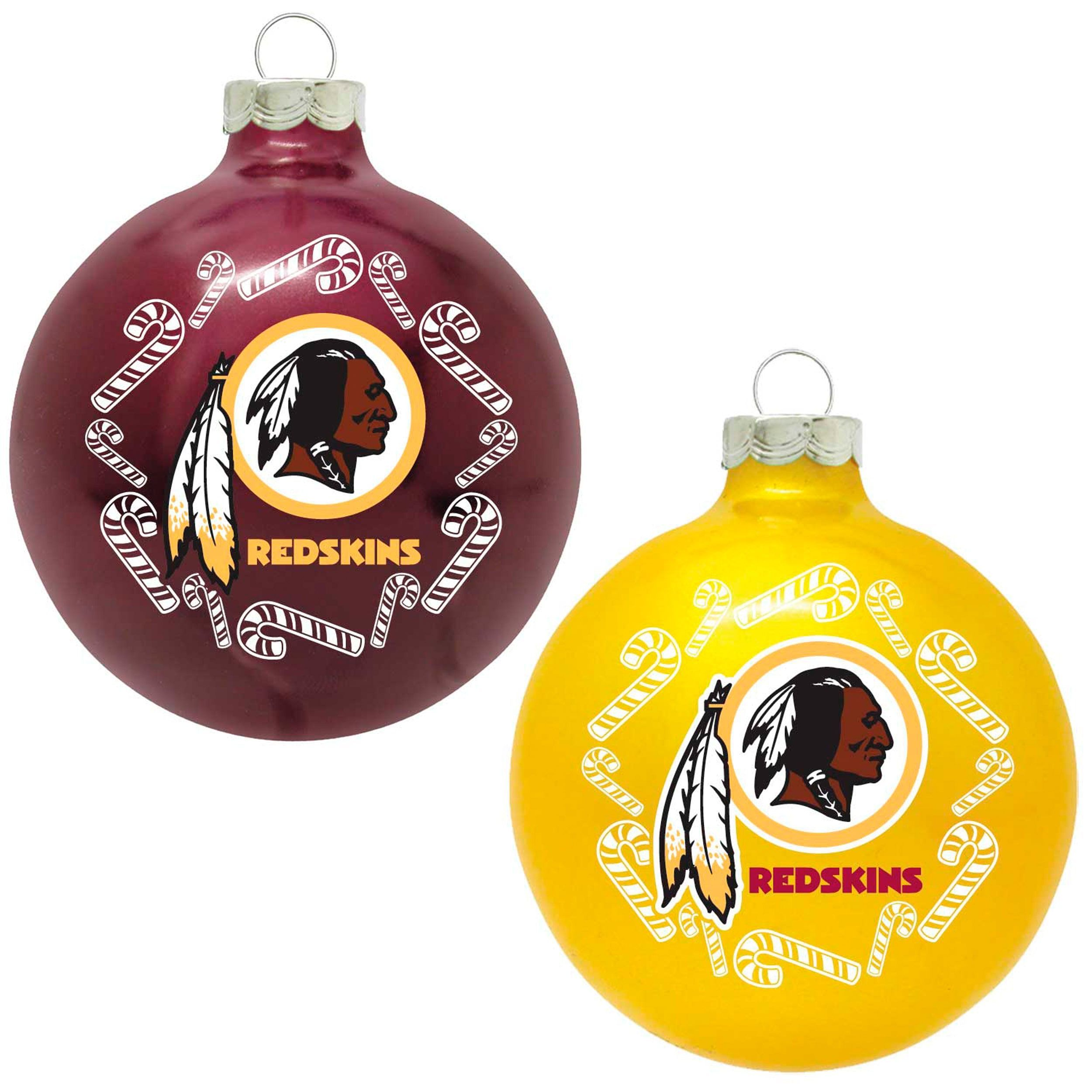 decor away glass and redskins home washington classic nfl pin ornaments