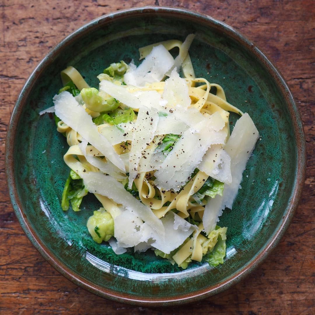 """134 Likes, 3 Comments - il Buco (@ilbuconyc) on Instagram: """"Homemade tagliatelle in a handcrafted Bellocchi pasta bowl from @ilbucovita"""""""