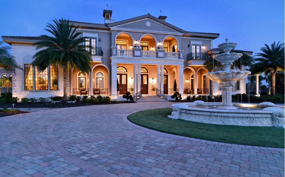 Mansions 16 5 million 30 000 square foot mega mansion in for Really nice mansions