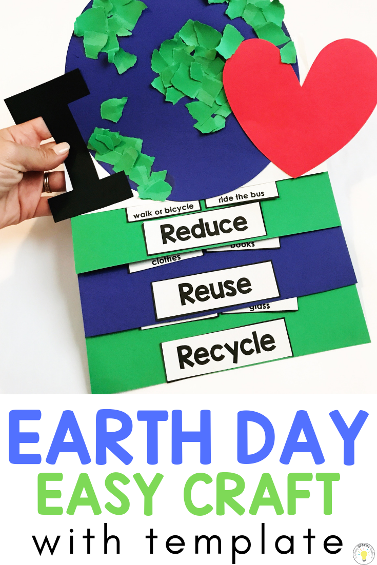 Celebrating Earth Day In The Classroom Teaching Special Thinkers Recycling Activities For Kids Earth Day Activities Recycle Preschool