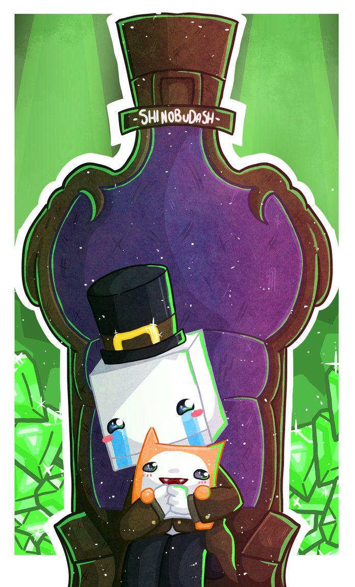 Hatty Hattington By Shinobudash On Deviantart Castle Crashers Fan Art Yandere Simulator