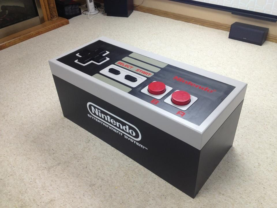 Admirable How To Giant Nes Controller For The Home Video Game Alphanode Cool Chair Designs And Ideas Alphanodeonline