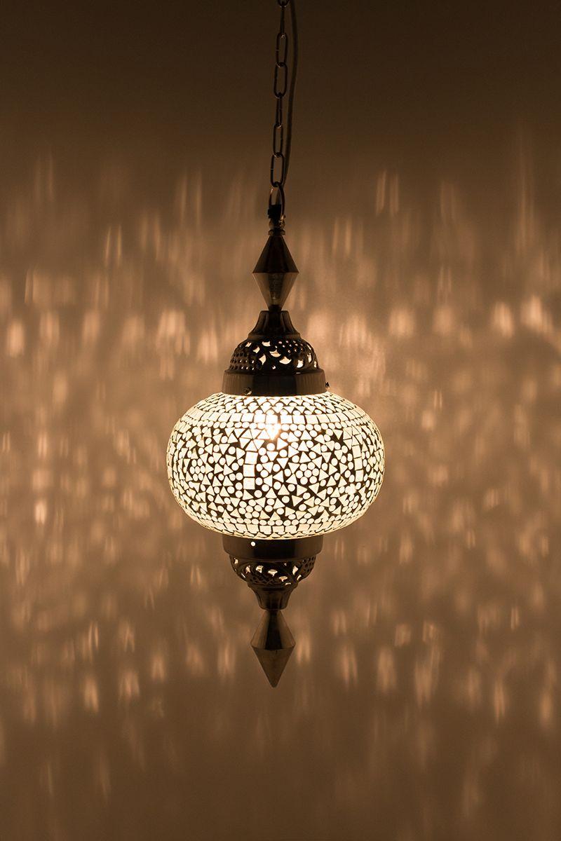 Oosterse Lamp Wit Gaya Classic In 2019 Boho Style Lampen En Boho