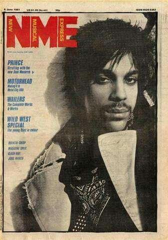 Prince on New Music Express magazine 1981
