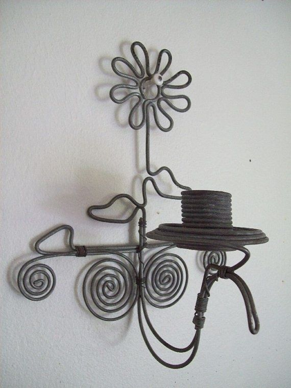 33 Amazing Diy Wire Art Ideas | fil de fer deco | Pinterest | Draht