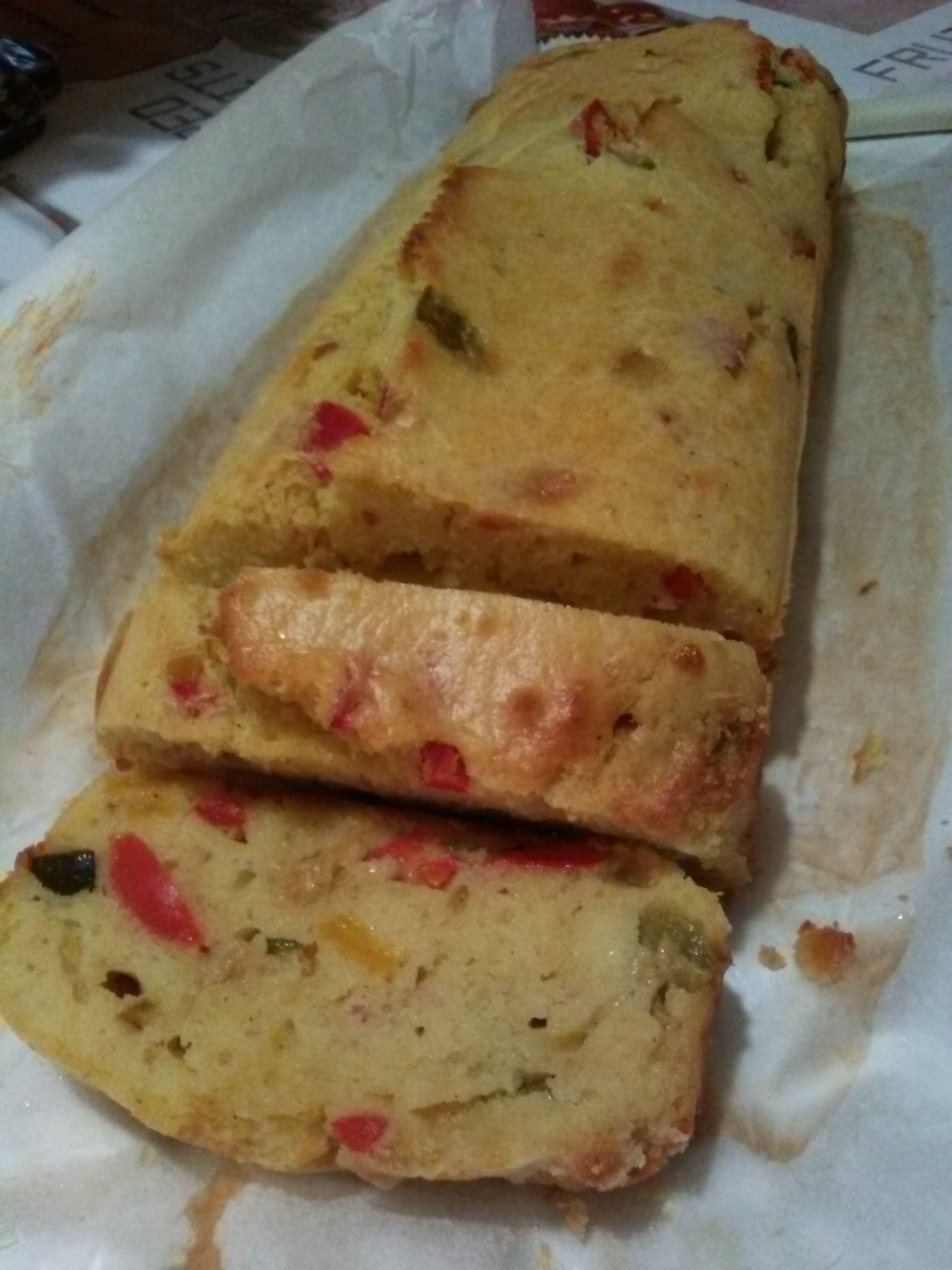 Plumcake con verdure all'orientale home-made #magariungiorno