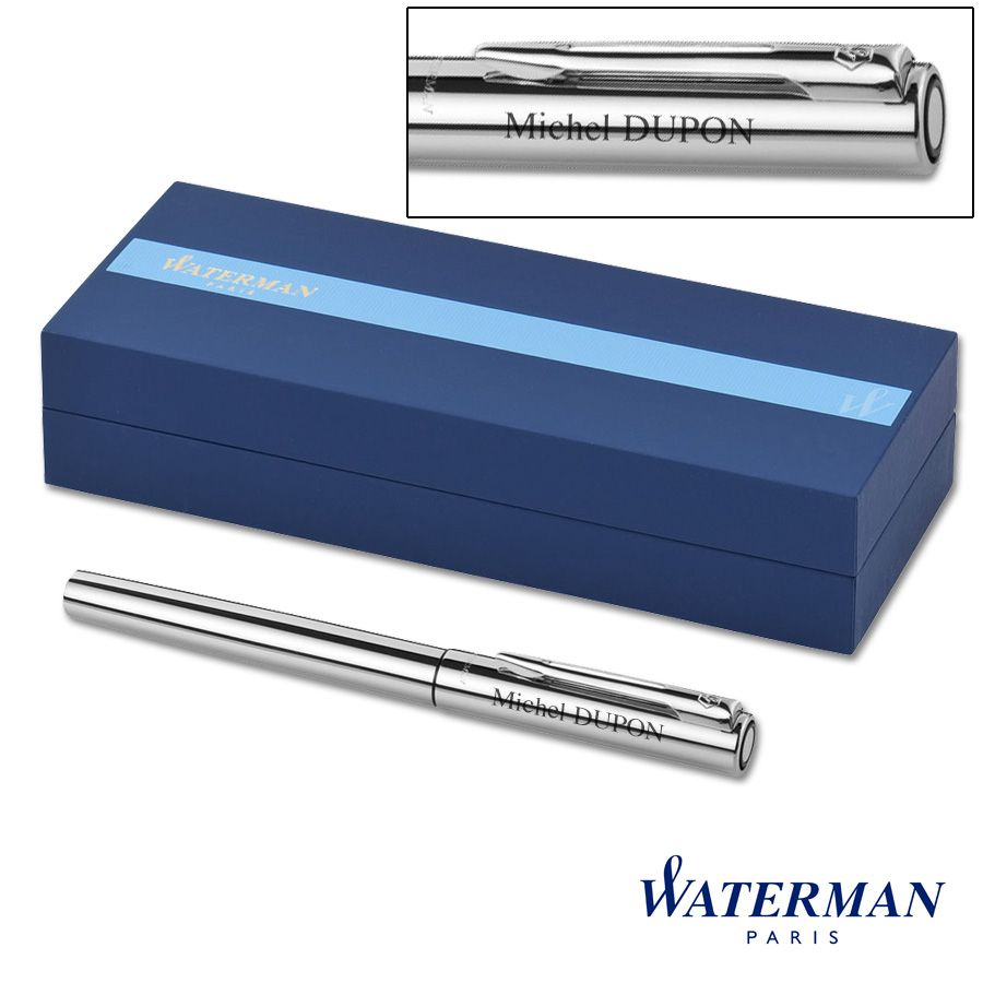 Stylo Roller Waterman Chrome Graduate personnalisable