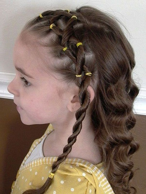 Latest 45 Simple Hairstyles For Girls For School Hairstyles