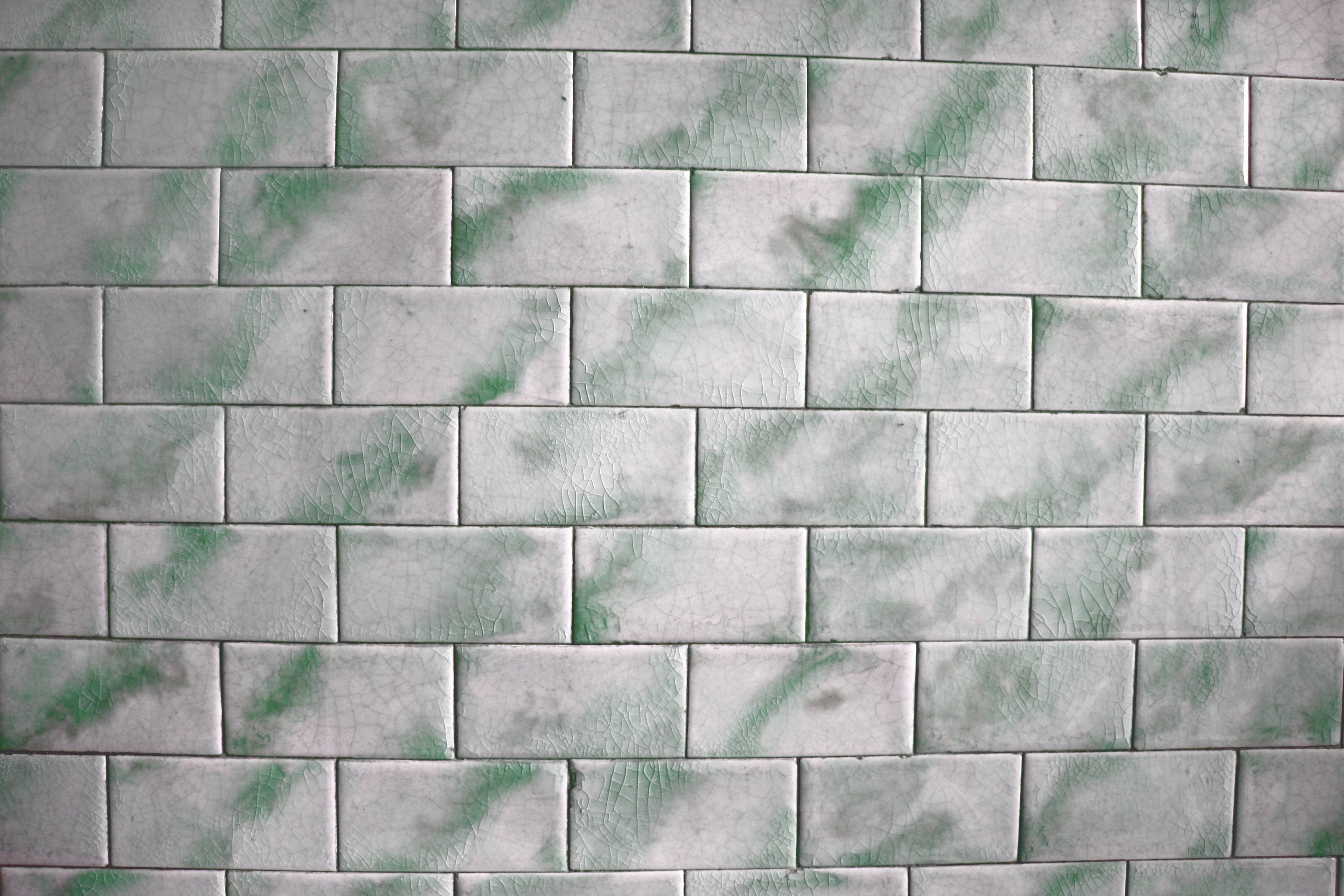 Vintage Green and White Tile Texture - Free High Resolution Photo ...