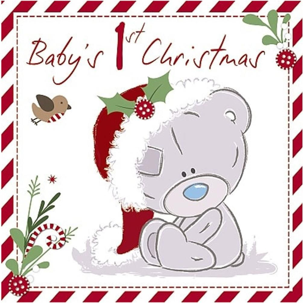Babys 1 christmas teddy bears pinterest tatty teddy teddy babys tiny tatty teddy me to you bear christmas card kristyandbryce Images
