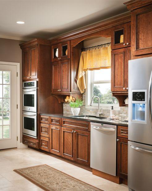 Windsor   Schuler cabinets, Kitchen layout, Kitchen