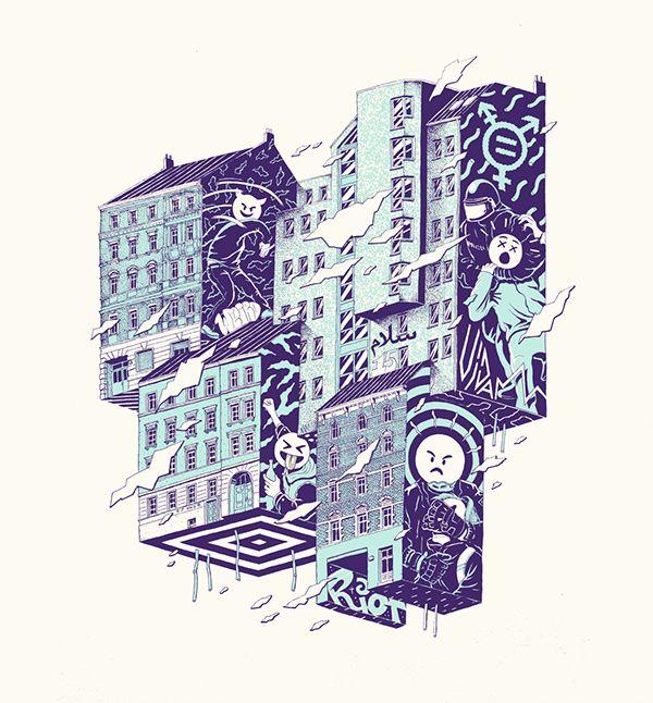 Pin von steven vogel auf creative illustration pinterest for Grafik design berlin
