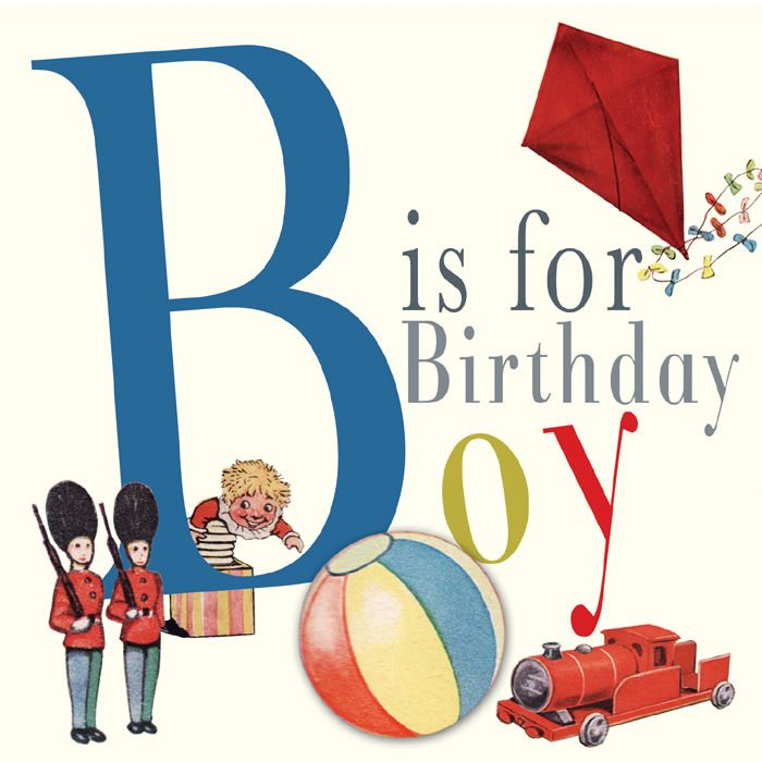 Happy Birthday Vintage Boy Images