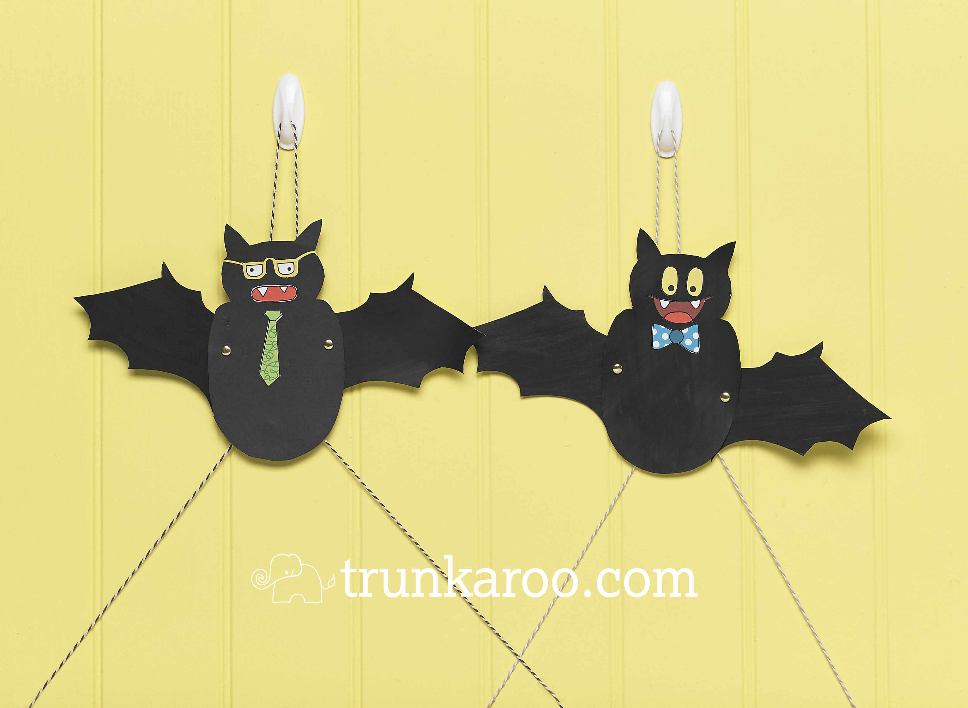 Our Friction Bats From The Spooky Pets Trunk Enjoy Stem