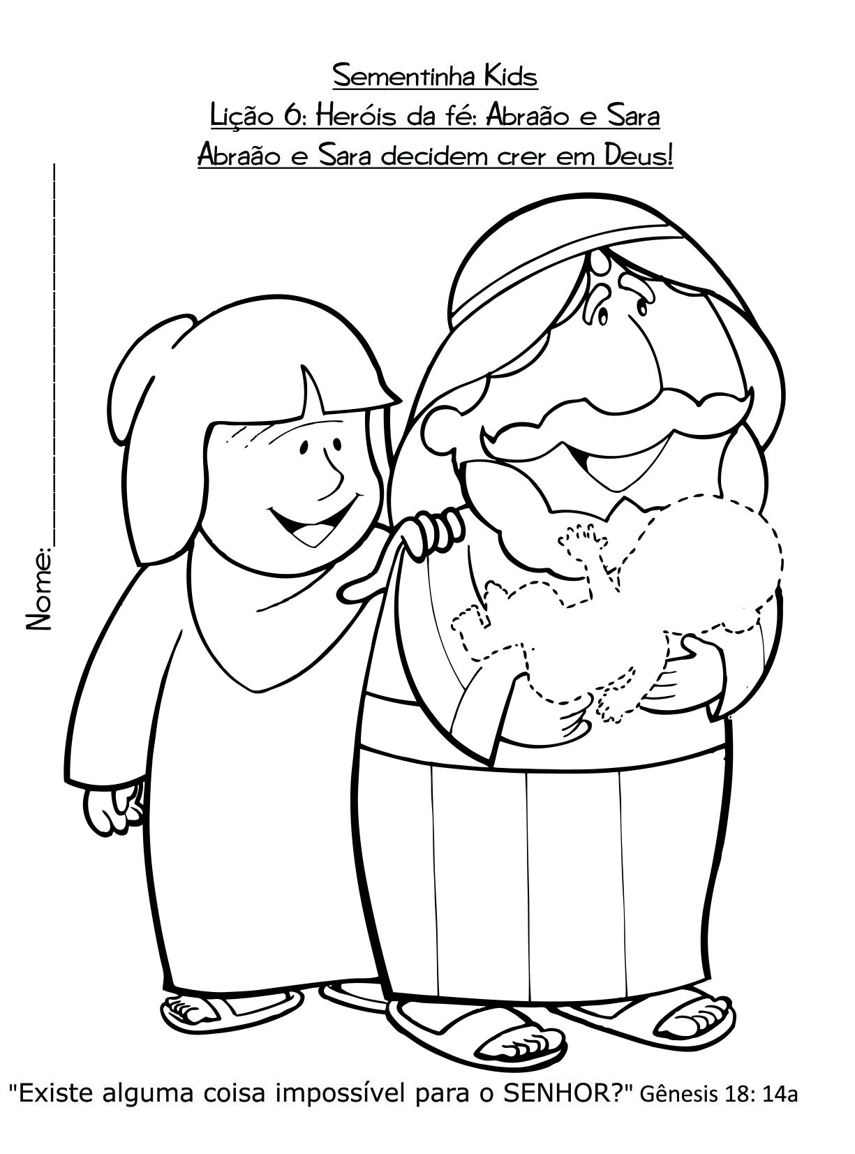 Sementinha Kids Ministério Boa Semente - Igreja em Células Série de ...