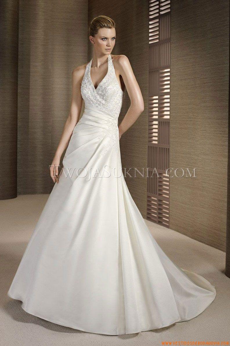 Vestido de novia White One Tesoro 2012