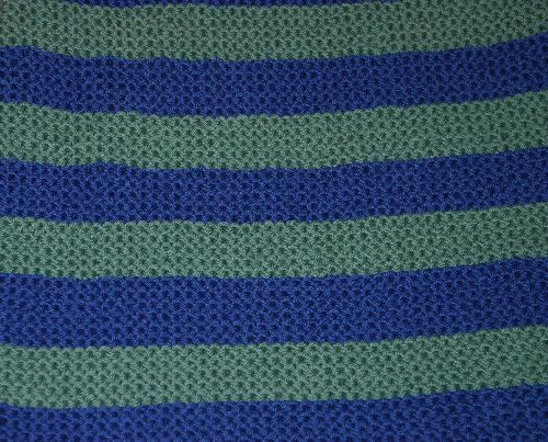 Knit A Big Comfy Blanket For Baby Baby Warmer Garter Stitch And