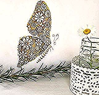 What would an autumn butterfly look like? #pencildrawing #fabercastell #butterfly #daisy #trudette4colourpencil #dailyart #vlinder #herfst #autumn #fall #dailypicture #flowerpattern #loveforbutterflies #madeliefje #trudette #rosemary #novemberchallenge