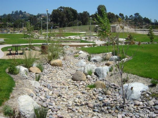 landscape with dry streambeds - Google Search | Dry creek ...