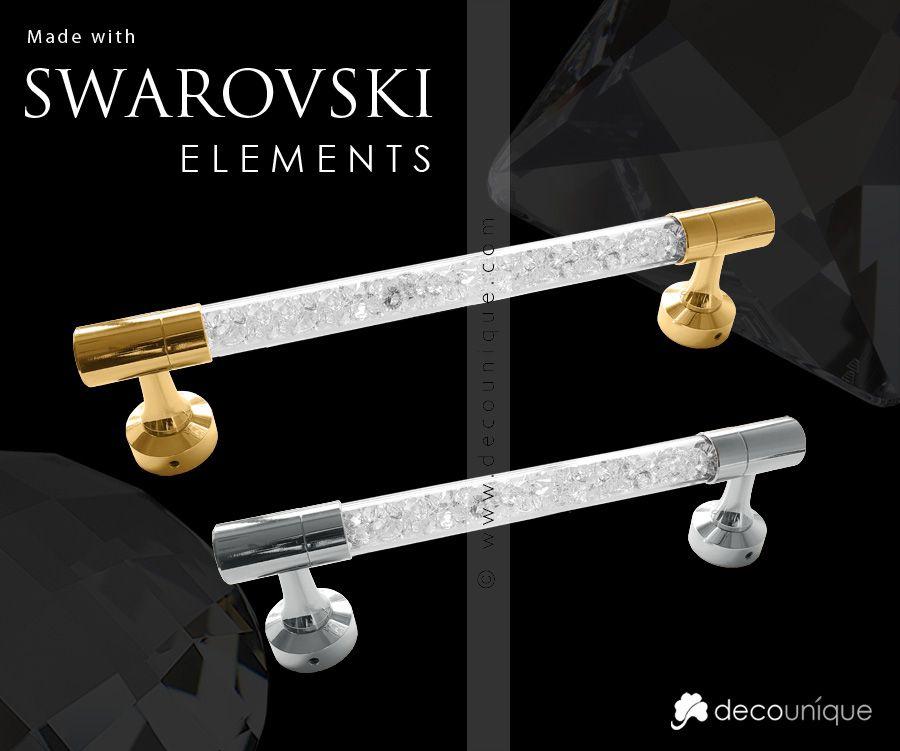 Swarovski Crystal Interior Door Handle 976