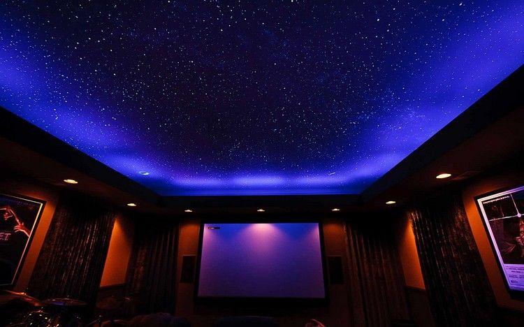 Sternenhimmel An Der Decke decke mit sternenhimmel im kino deko