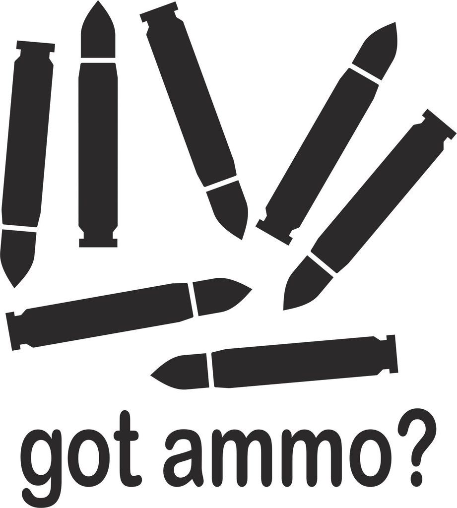 Got Ammo Vinyl Decal Just Gotammo Decals Hunting - Custom vinyl decals for metal