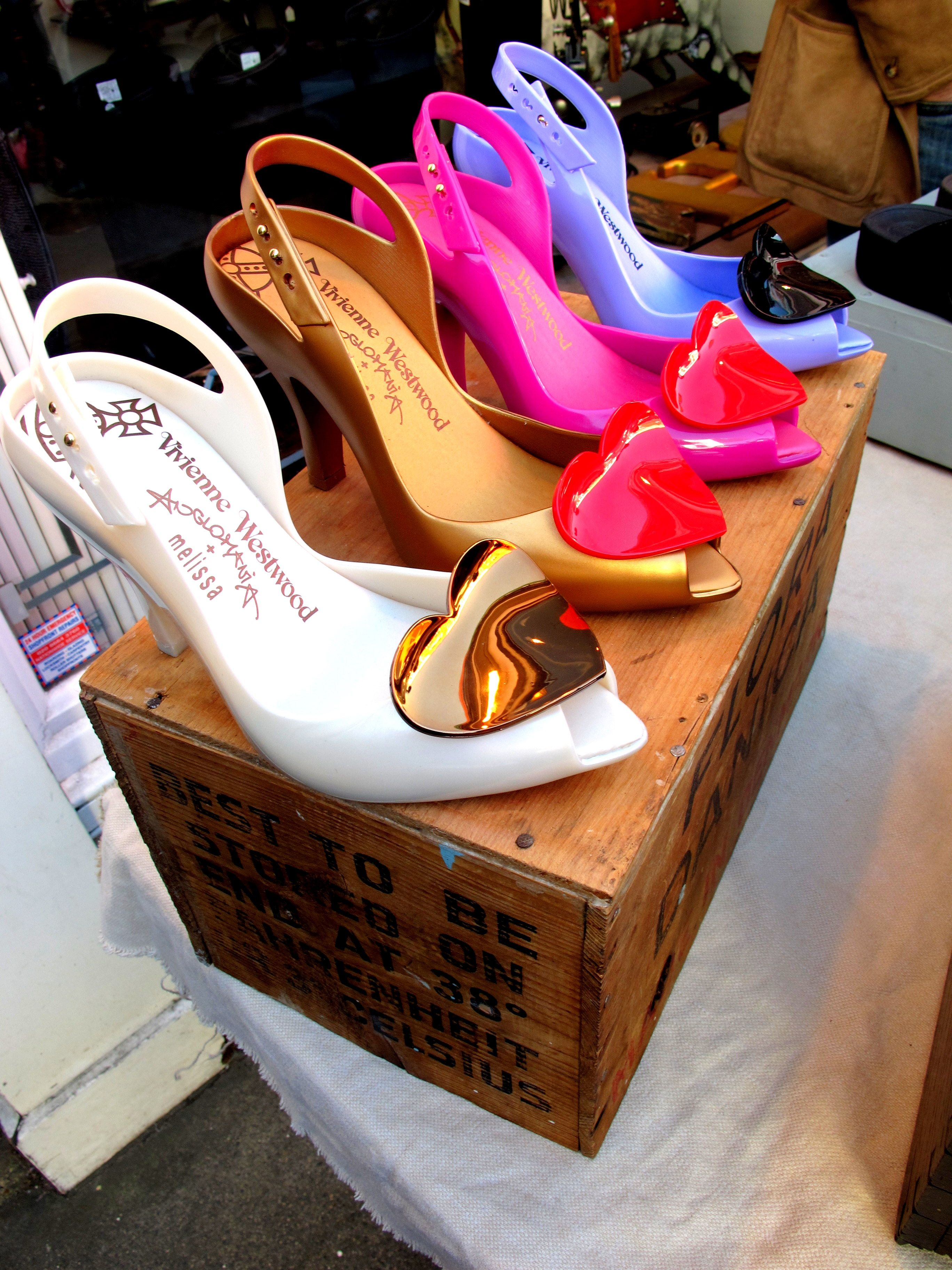 Had To Take A Photo Of These Brilliant Vivianne Westwood Heels Vivienne Westwood Melissa Shoes Melissa Shoes Shoes