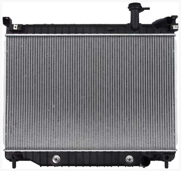 chevrolet trailblazer radiator adpi chetrailblazer/8012563 Brand:ADPI Part Number:chetrailblazer/8012563 Category:Radiator Condition:New Warranty:24Months Shippng:Free(Ground) Price :$116.37 Description: Mount Type: Saddle/Pin, Trans Oil Cooler: 11.5, Core Depth: 1