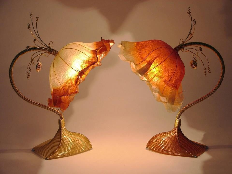 Rose of persia table lamp gold coloured aluminium wire structure rose of persia table lamp gold coloured aluminium wire structure with gold and greentooth Gallery