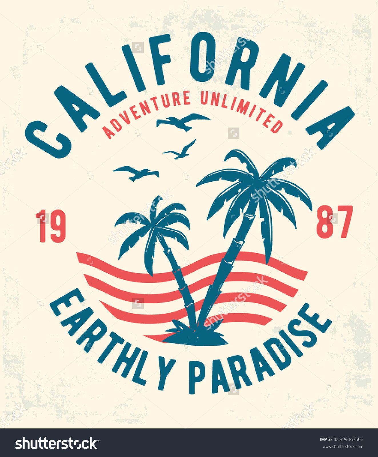 a3c421bf4d California typography for t-shirt print