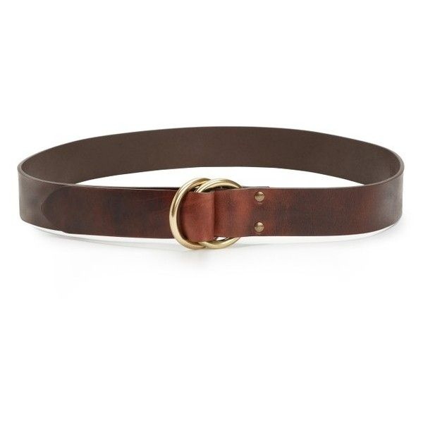 e435b0a5cbe4e9 Men s Frye Harness Leather Belt (420 BRL) ❤ liked on Polyvore featuring  men s fashion