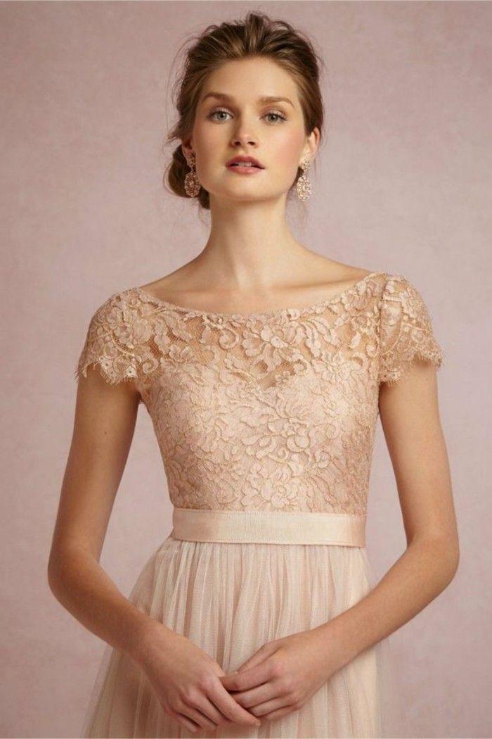 Rosa Brautkleid Fur Einen Glamourosen Hochzeits Look Hochzeit